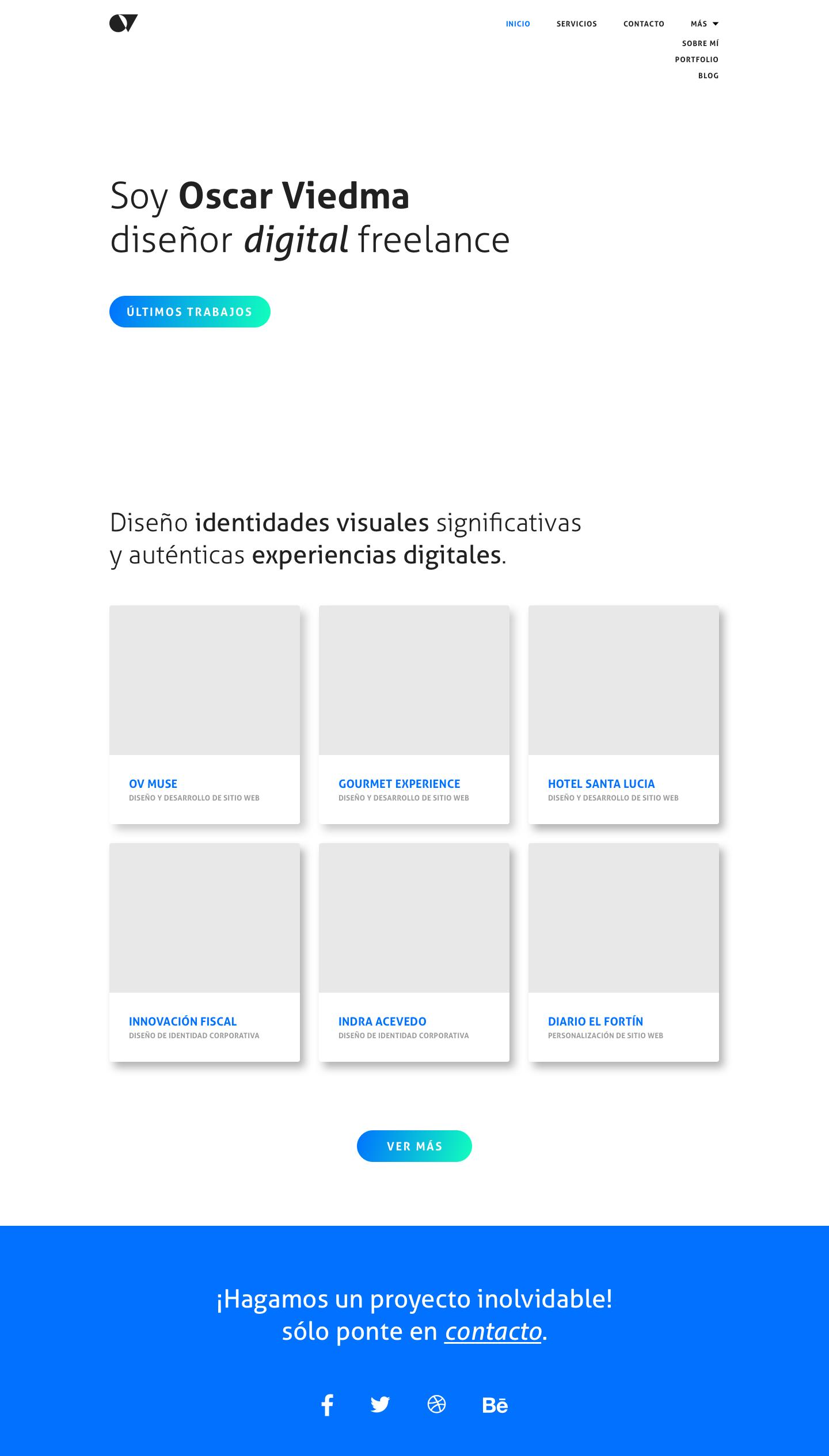 Interfaz UI Oscar Viedma